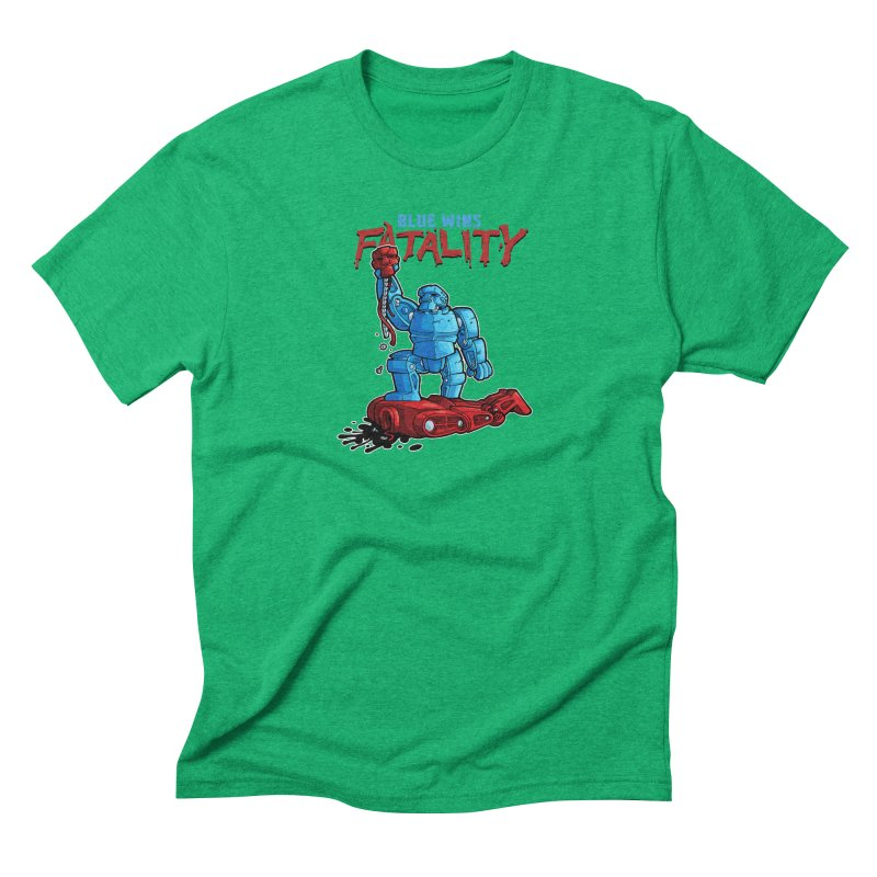 Rock 'Em Sock 'Em Finish 'Em! Men's Triblend T-Shirt by Marty's Artist Shop