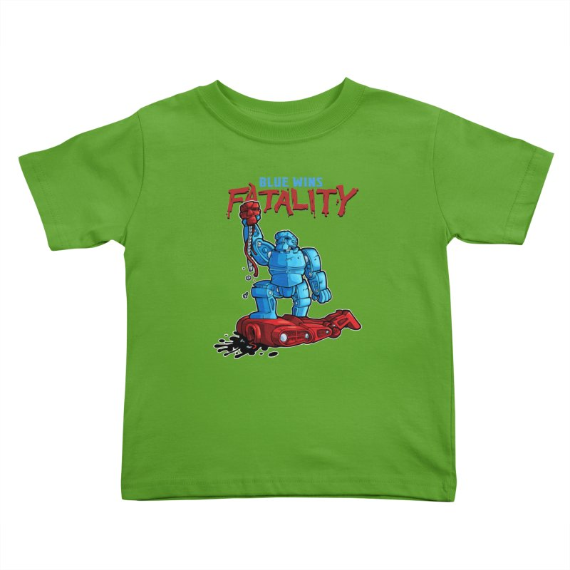 Rock 'Em Sock 'Em Finish 'Em! Kids Toddler T-Shirt by Marty's Artist Shop
