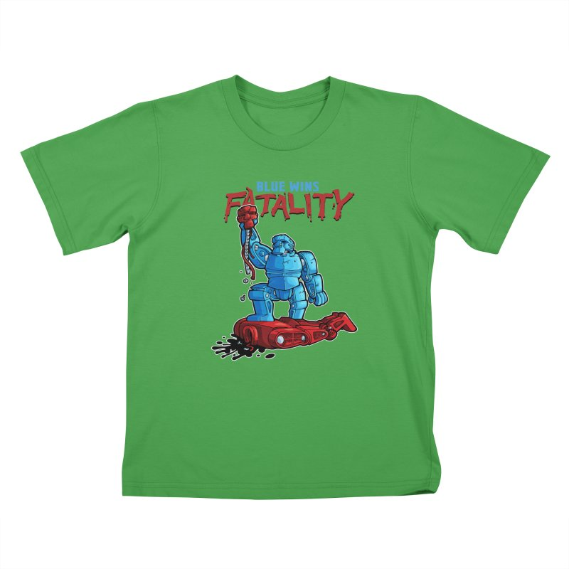 Rock 'Em Sock 'Em Finish 'Em! Kids T-Shirt by Marty's Artist Shop
