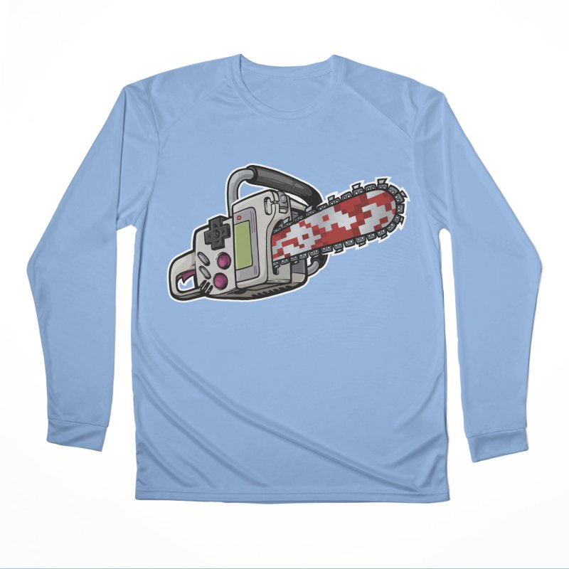Button Masher Men's Longsleeve T-Shirt by Marty's Artist Shop