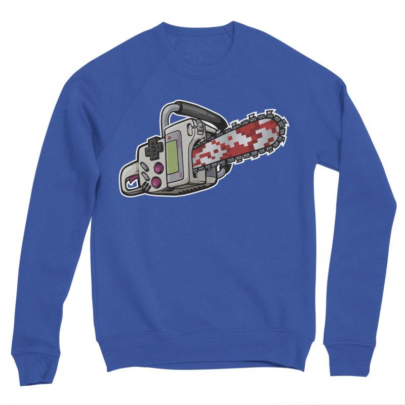 Button Masher Men's Sweatshirt by Marty's Artist Shop
