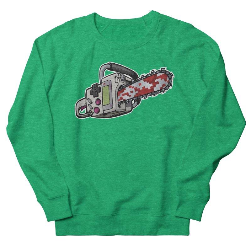 Button Masher Women's Sweatshirt by Marty's Artist Shop