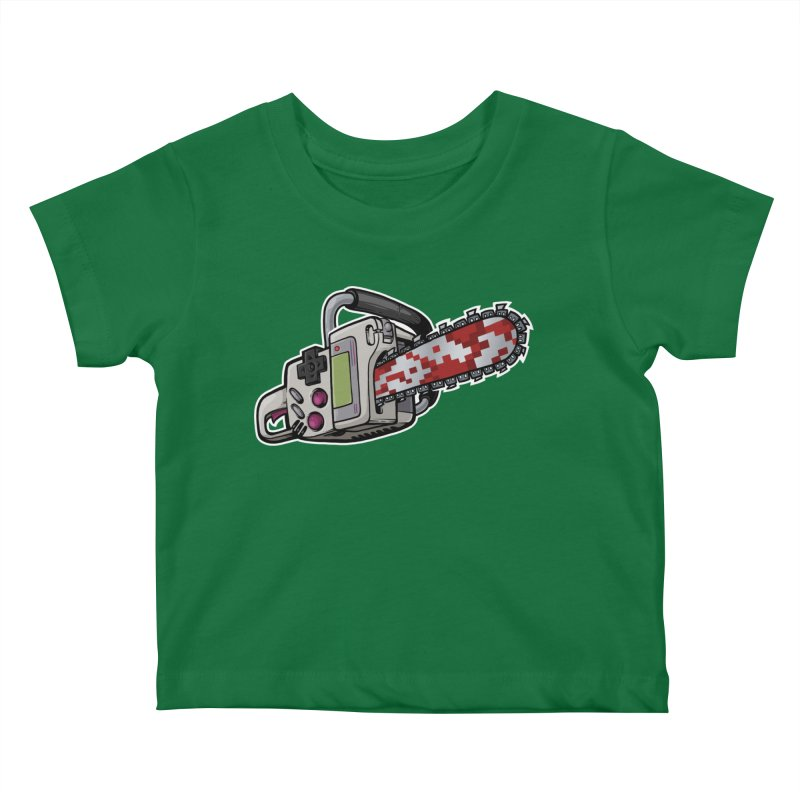 Button Masher Kids Baby T-Shirt by Marty's Artist Shop