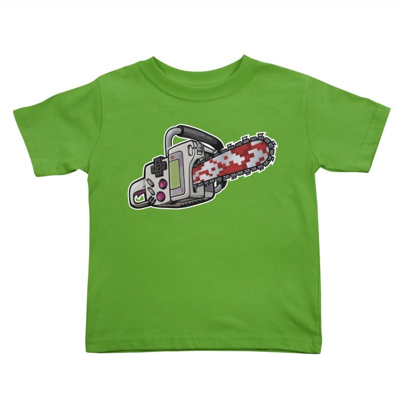 Button Masher Kids Toddler T-Shirt by Marty's Artist Shop