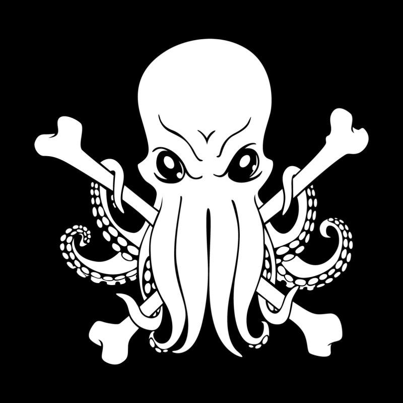 The Jolly Cthulhu Kids T-Shirt by Marty's Artist Shop