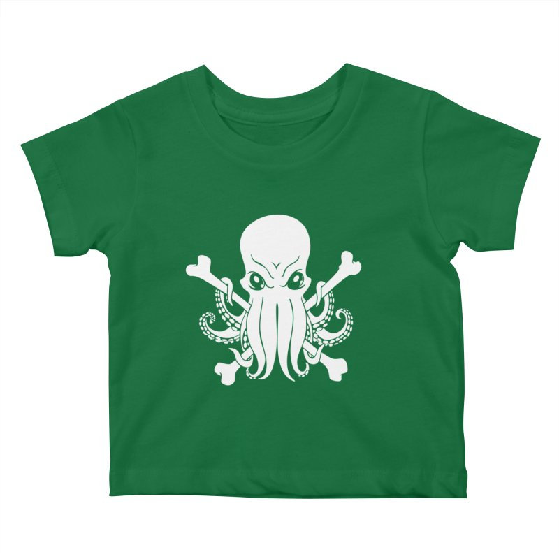 The Jolly Cthulhu Kids Baby T-Shirt by Marty's Artist Shop