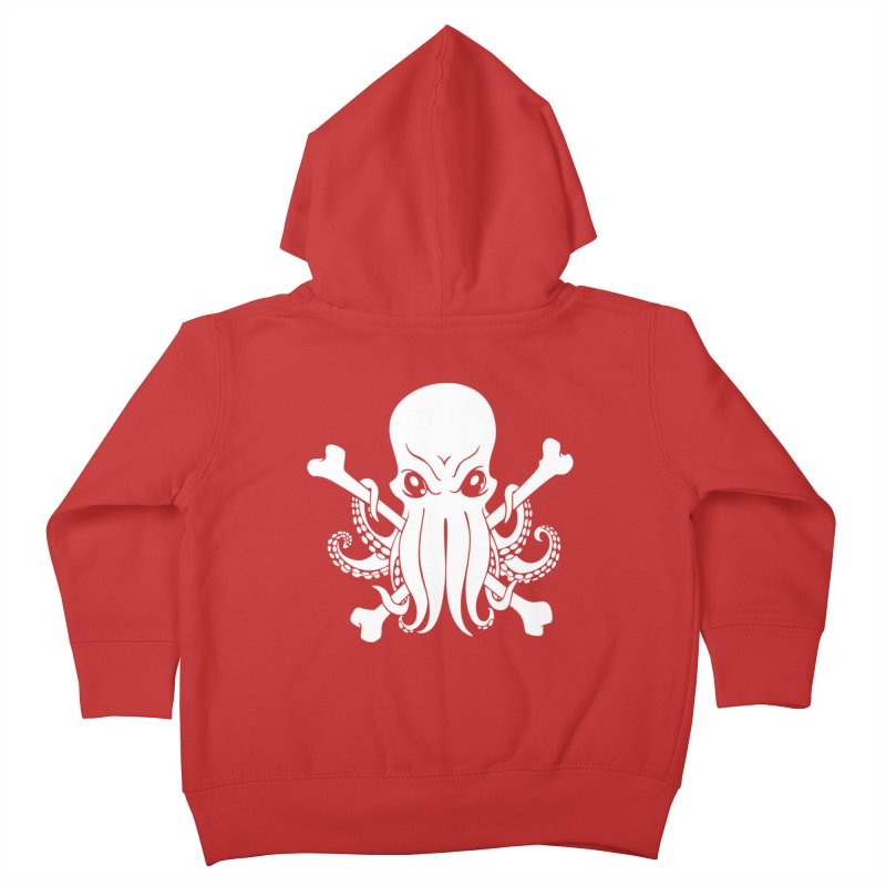 The Jolly Cthulhu Kids Toddler Zip-Up Hoody by Marty's Artist Shop