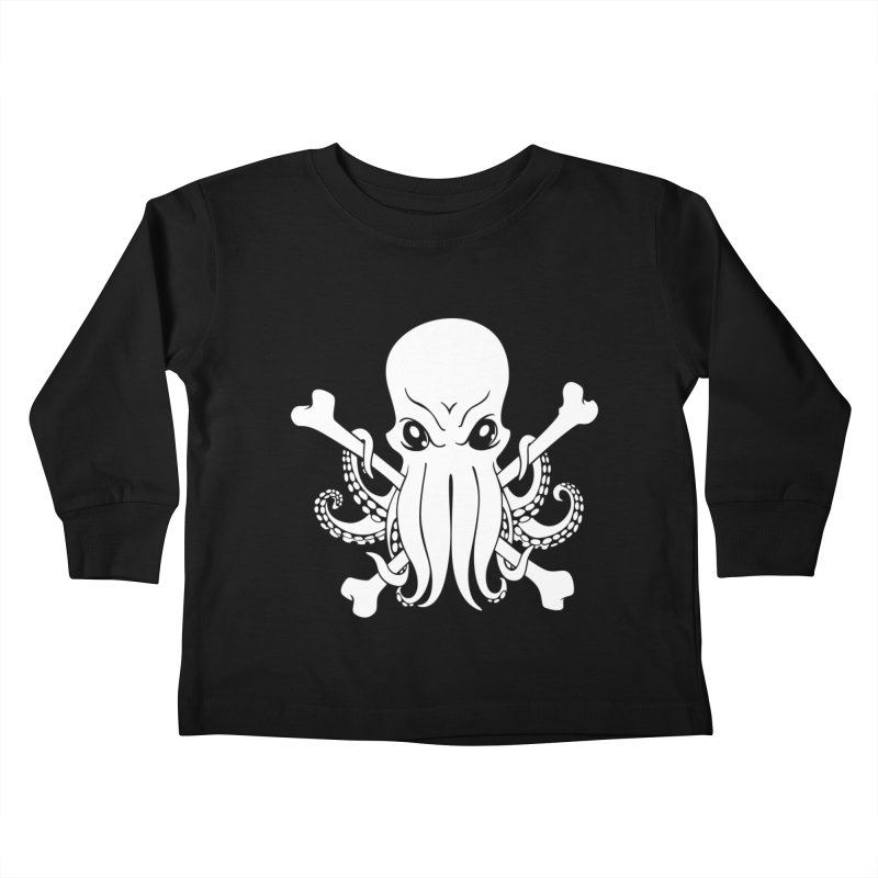 The Jolly Cthulhu Kids Toddler Longsleeve T-Shirt by Marty's Artist Shop