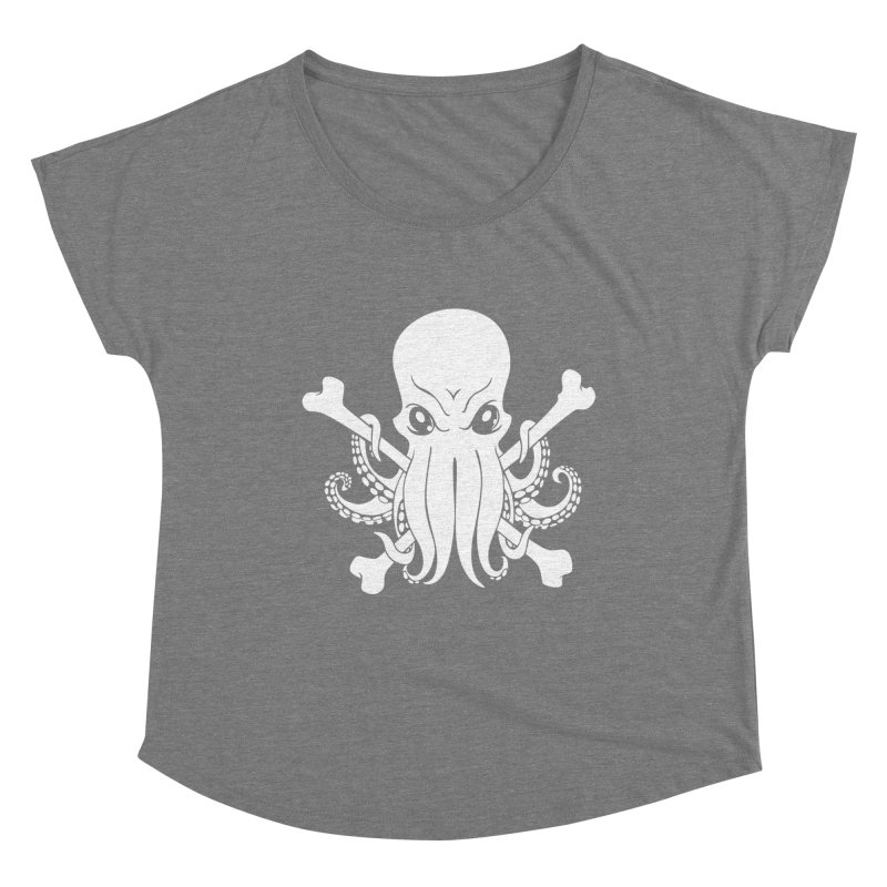 The Jolly Cthulhu Women's Scoop Neck by Marty's Artist Shop