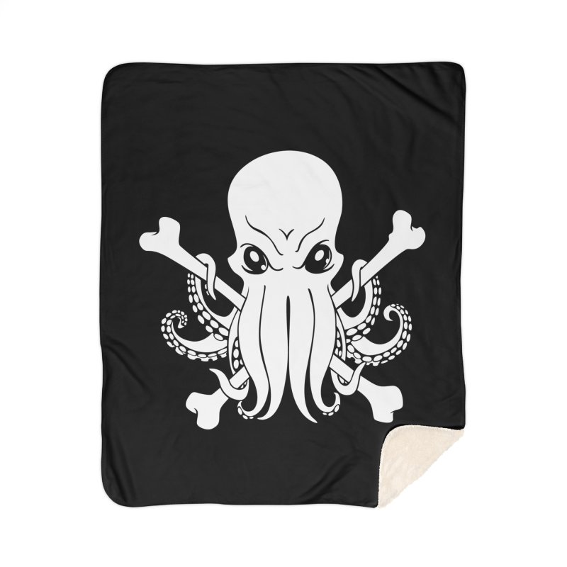 The Jolly Cthulhu Home Blanket by Marty's Artist Shop