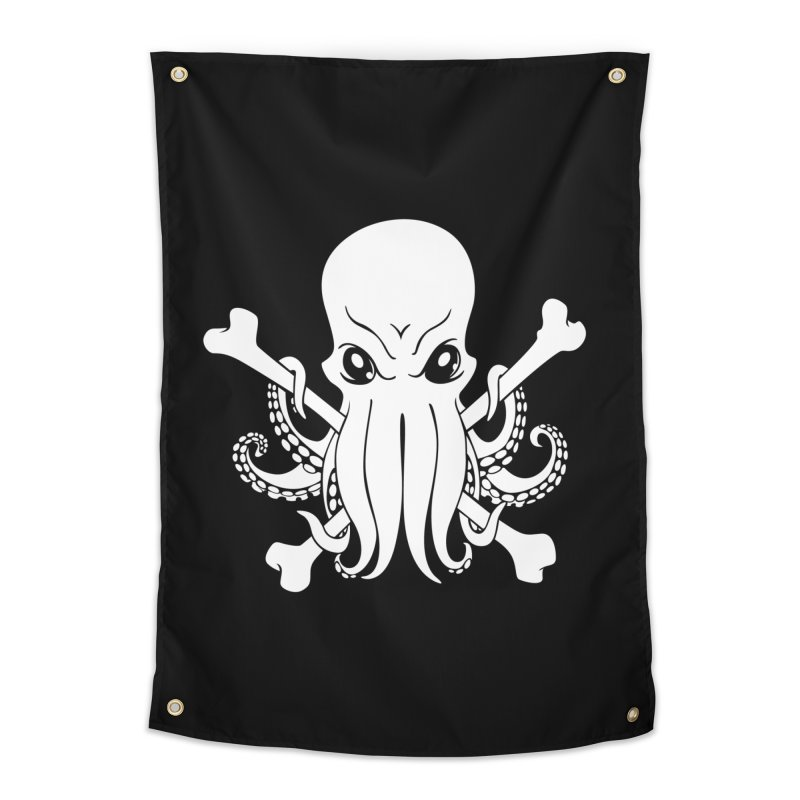 The Jolly Cthulhu Home Tapestry by Marty's Artist Shop