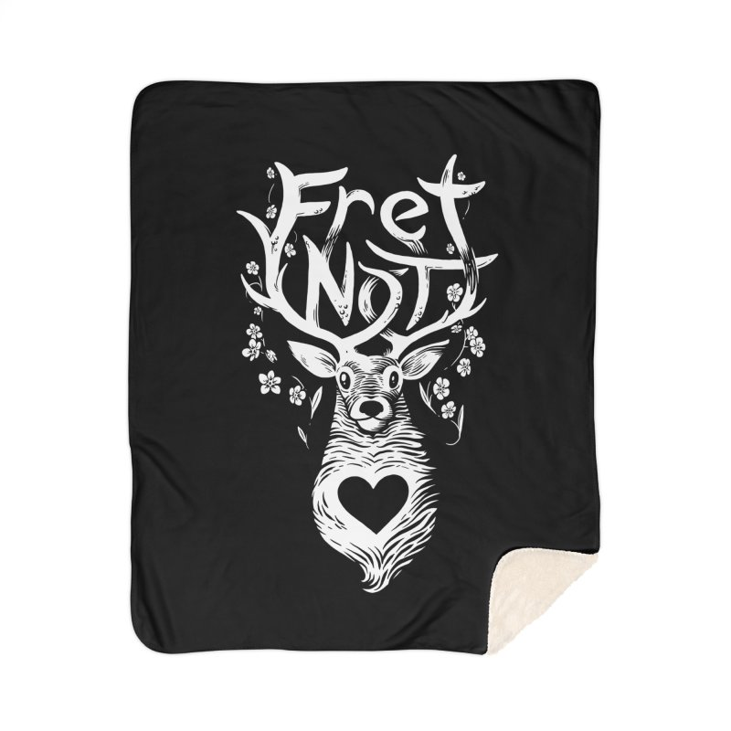 Fret Not - Accessories Home Blanket by Marty's Artist Shop