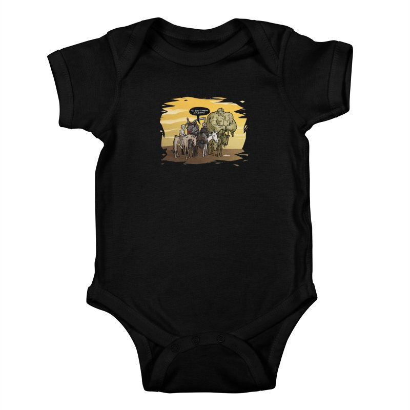 peSWOLence Kids Baby Bodysuit by Marty's Artist Shop