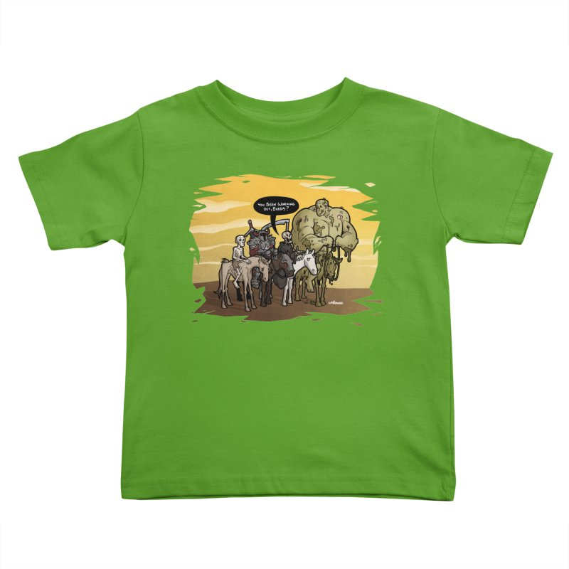 peSWOLence Kids Toddler T-Shirt by Marty's Artist Shop
