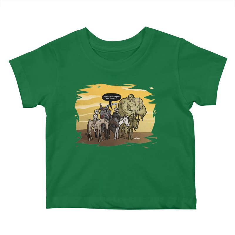 peSWOLence Kids Baby T-Shirt by Marty's Artist Shop