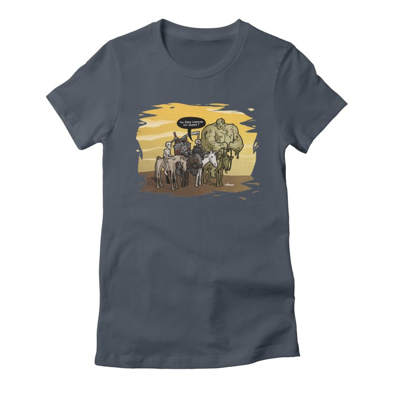 peSWOLence Women's T-Shirt by Marty's Artist Shop