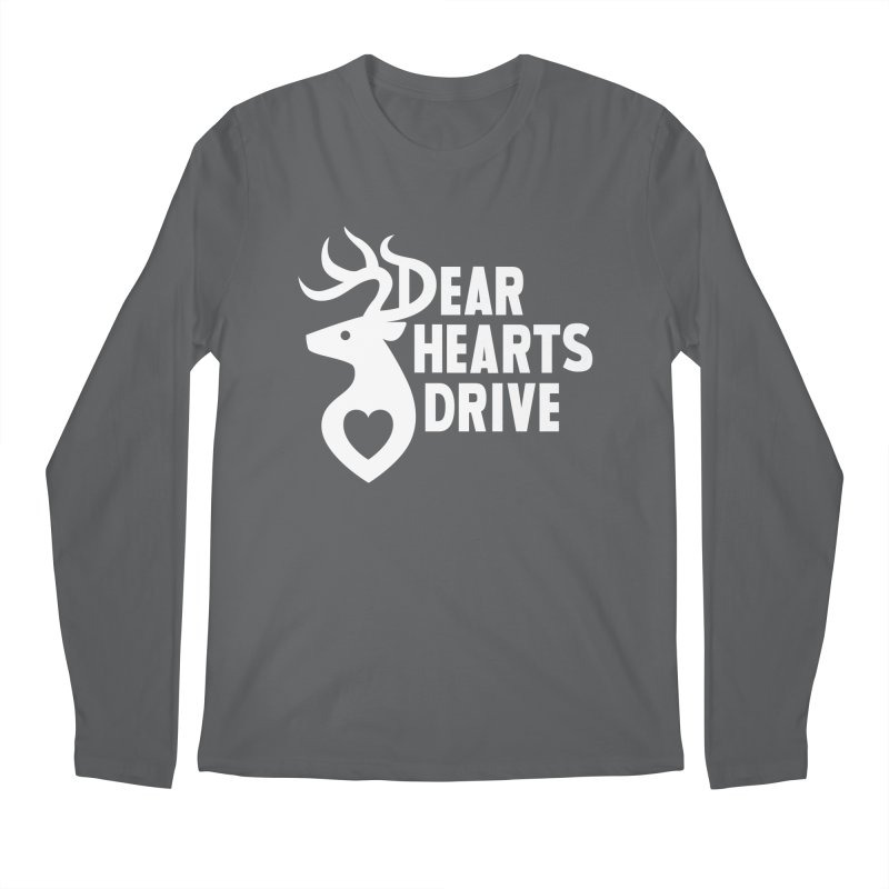 Dear Hearts Drive Men's Longsleeve T-Shirt by Marty's Artist Shop