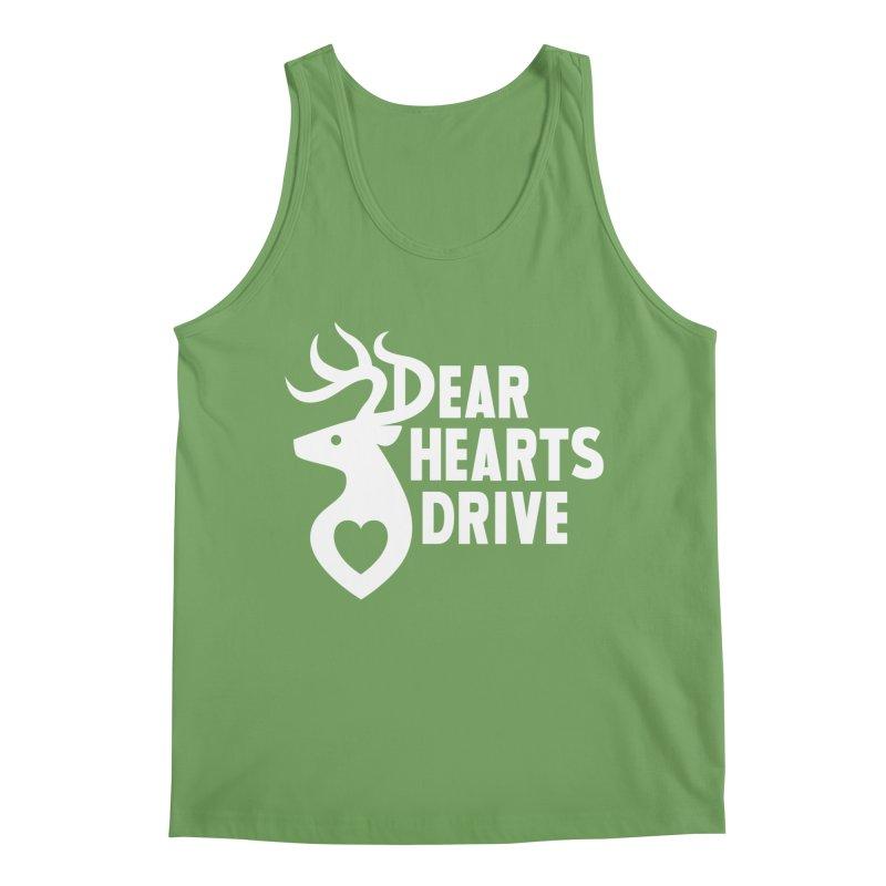 Dear Hearts Drive Men's Tank by Marty's Artist Shop