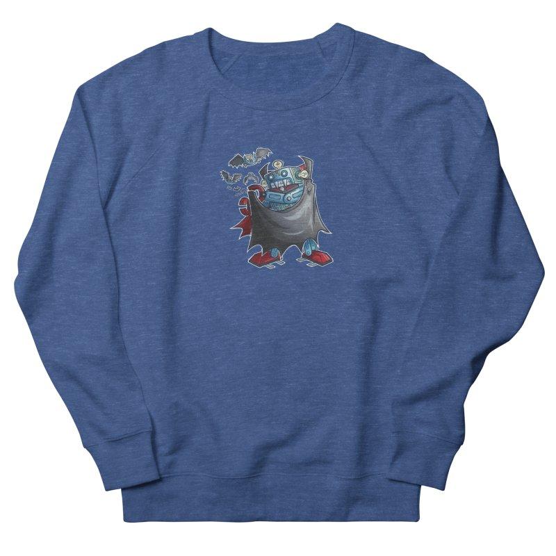 Robot Vampire! Men's Sweatshirt by Marty's Artist Shop