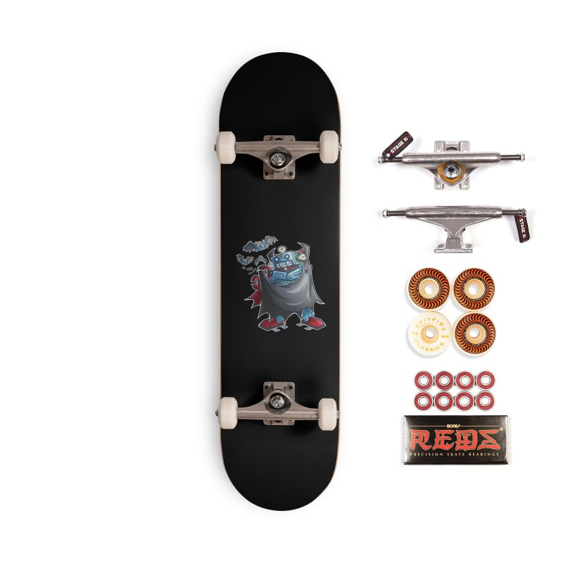 Robot Vampire! Accessories Skateboard by Marty's Artist Shop