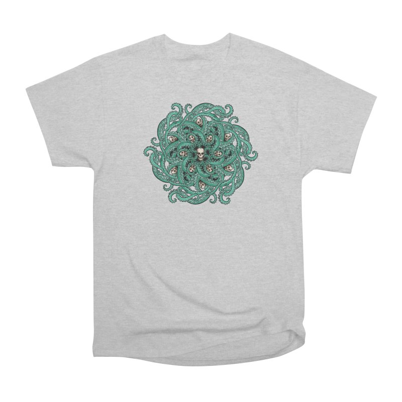 Radial Tentacles Men's T-Shirt by Marty's Artist Shop