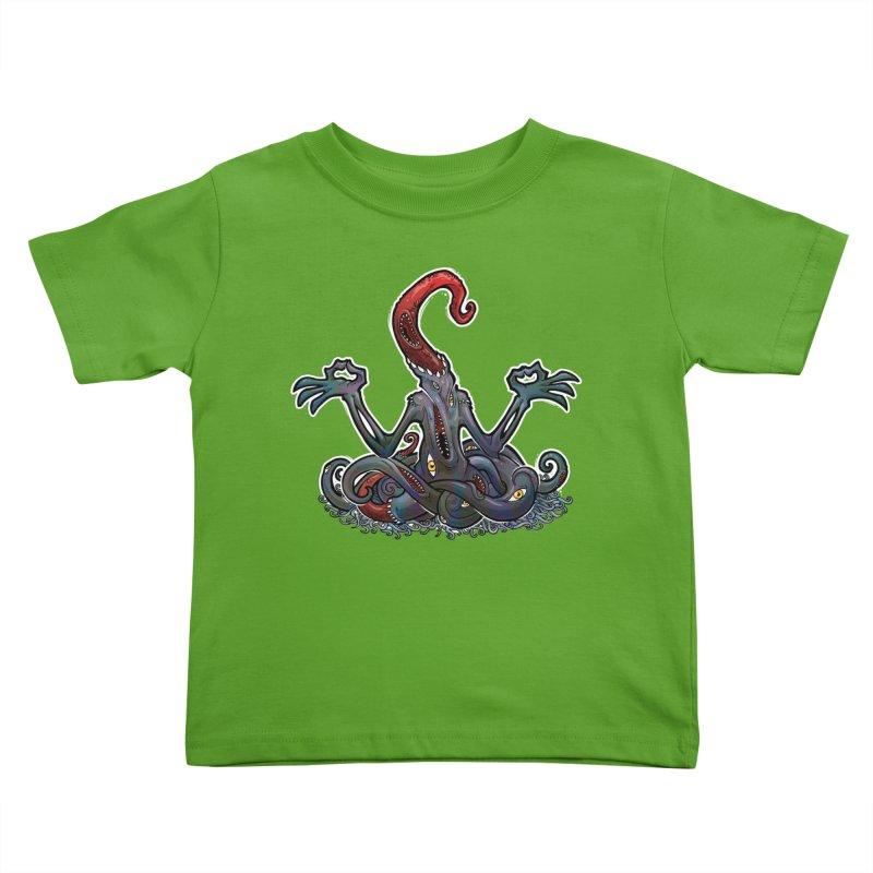 NyarlatOHMtep Kids Toddler T-Shirt by Marty's Artist Shop