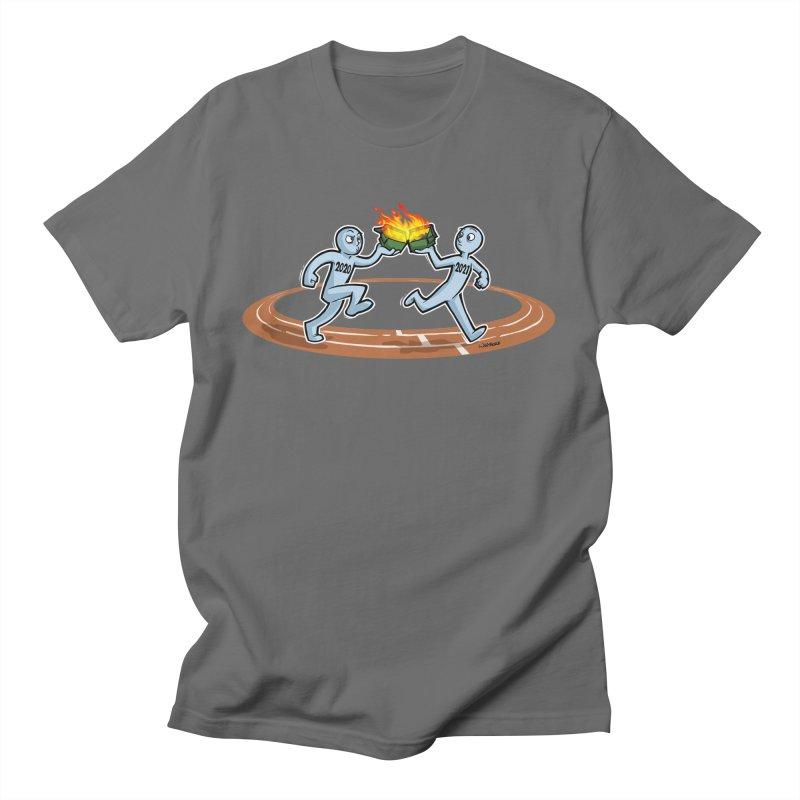 Dumpster Fire Relay Men's T-Shirt by Marty's Artist Shop