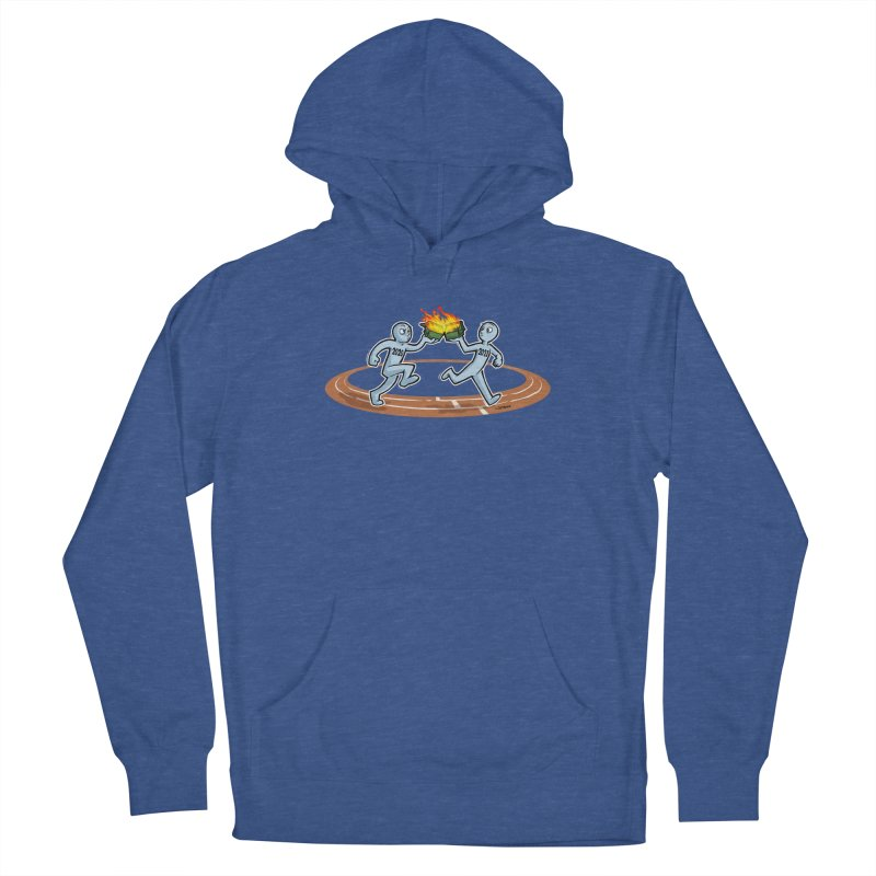 Dumpster Fire Relay Women's Pullover Hoody by Marty's Artist Shop