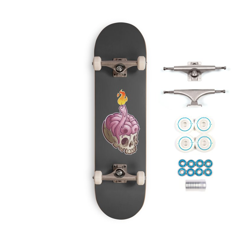 Candlebrain Accessories Skateboard by Marty's Artist Shop