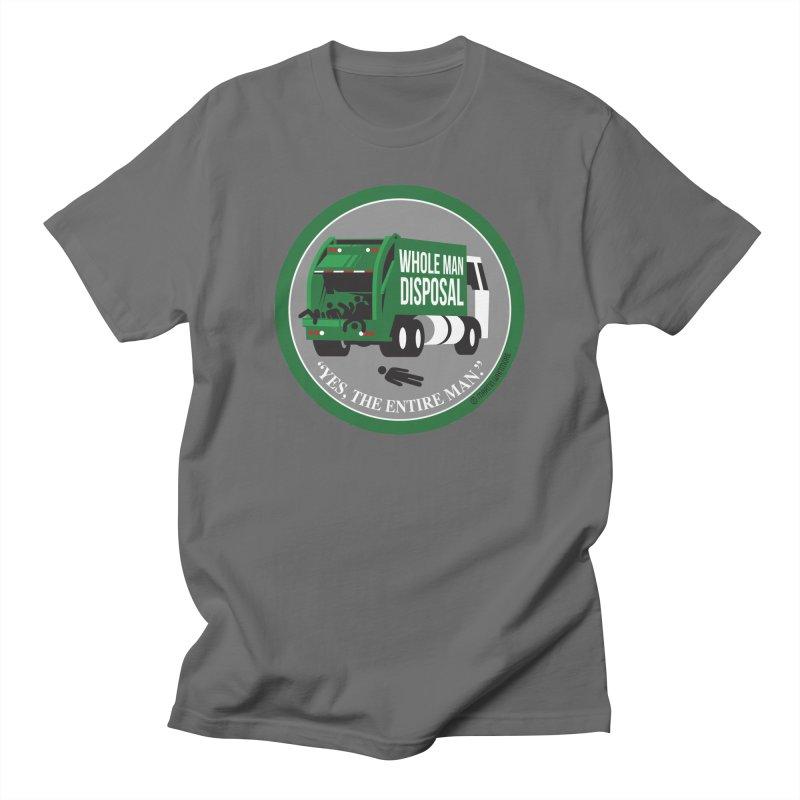 Whole Man Disposal, 2021 Men's T-Shirt by Marty's Artist Shop