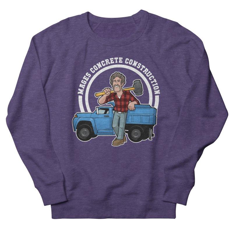 the Big Blue Truck Women's Sweatshirt by Marty's Artist Shop