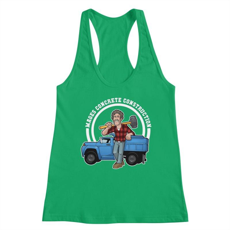 the Big Blue Truck Women's Tank by Marty's Artist Shop