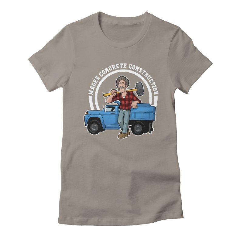 the Big Blue Truck Women's T-Shirt by Marty's Artist Shop