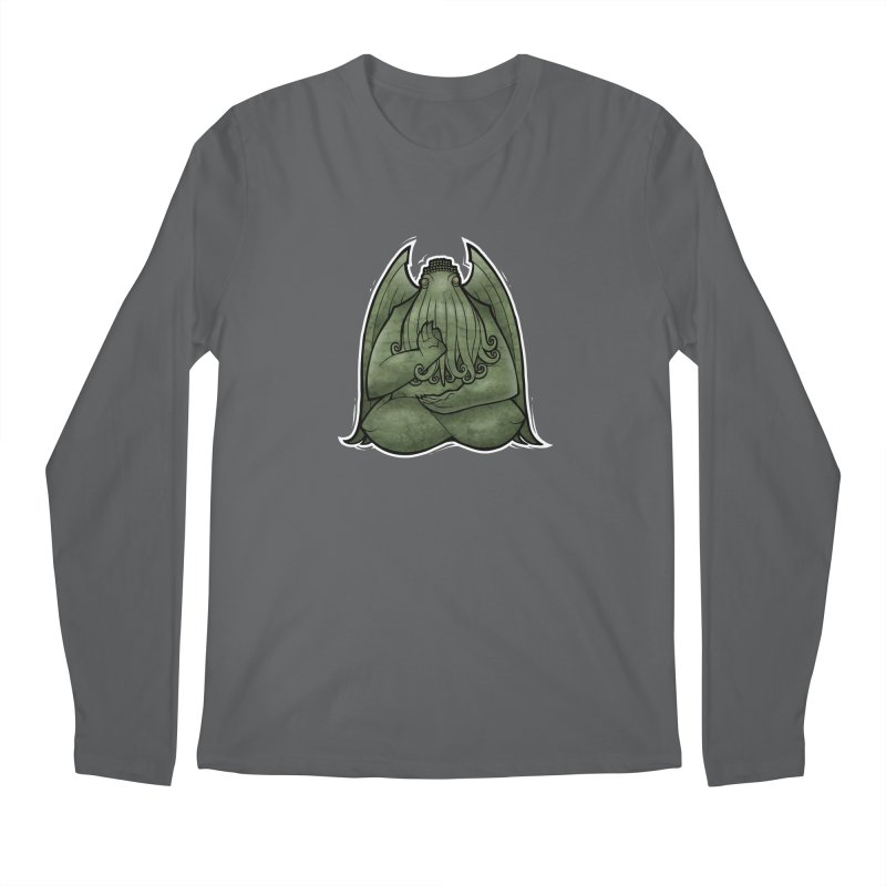 Koan of Cthulhu Men's Longsleeve T-Shirt by Marty's Artist Shop