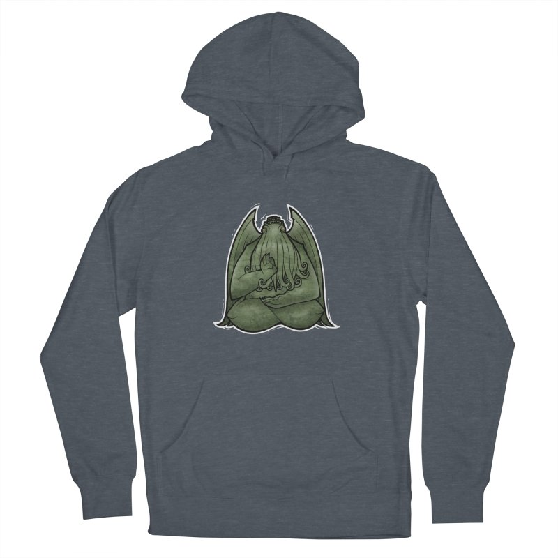 Koan of Cthulhu Men's French Terry Pullover Hoody by Marty's Artist Shop