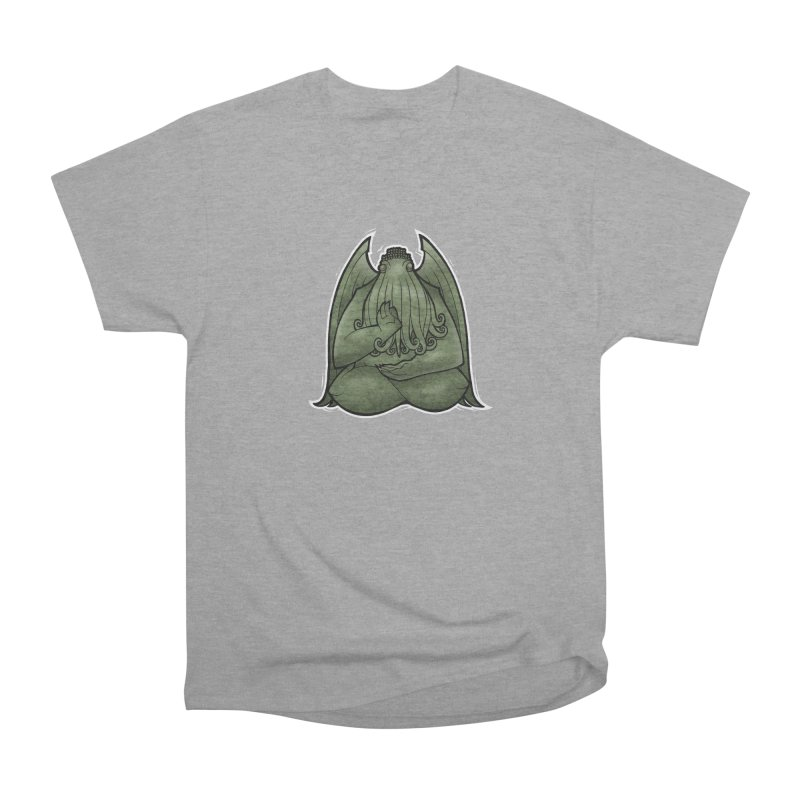 Koan of Cthulhu Men's Heavyweight T-Shirt by Marty's Artist Shop