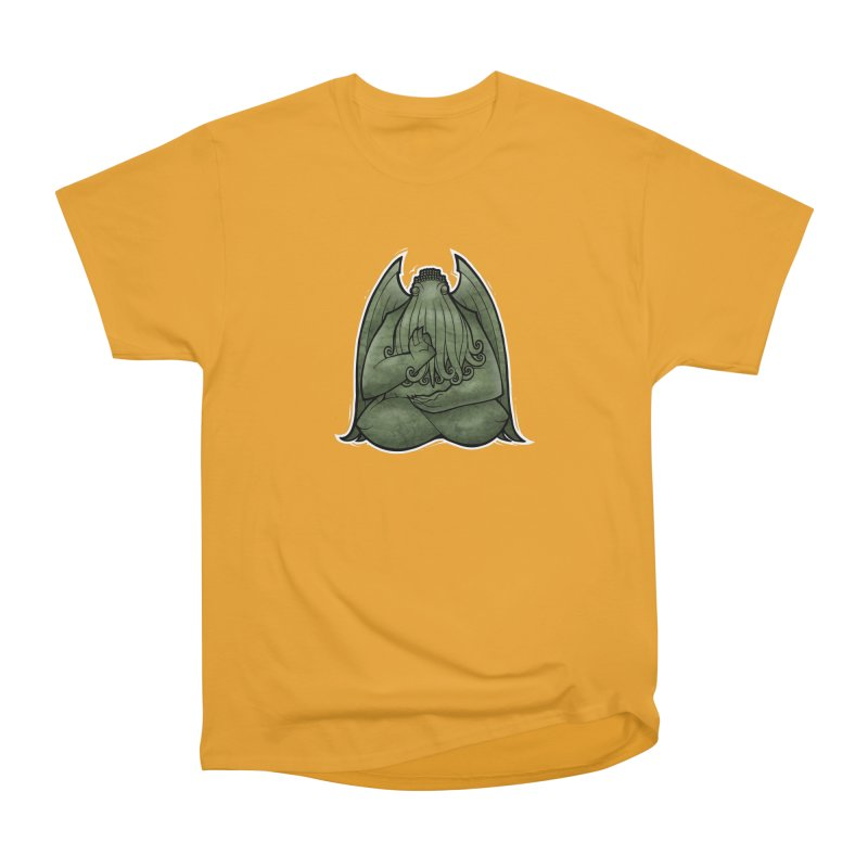 Koan of Cthulhu Women's Heavyweight Unisex T-Shirt by Marty's Artist Shop