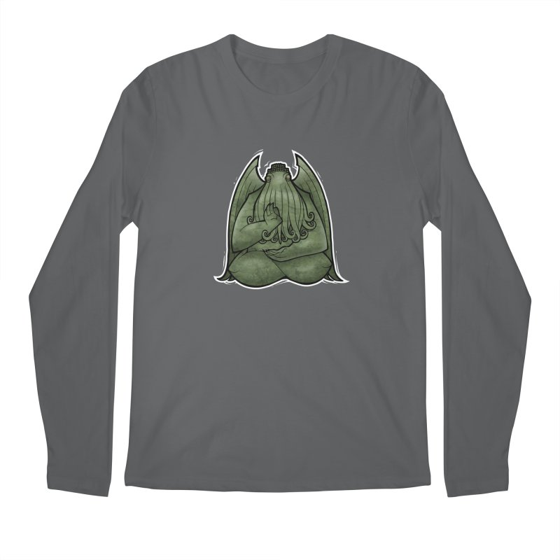 Koan of Cthulhu Men's Regular Longsleeve T-Shirt by Marty's Artist Shop