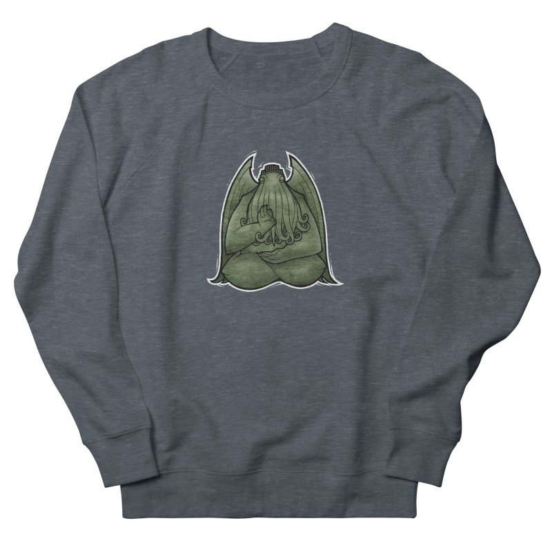 Koan of Cthulhu Women's French Terry Sweatshirt by Marty's Artist Shop