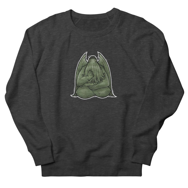 Koan of Cthulhu Men's French Terry Sweatshirt by Marty's Artist Shop