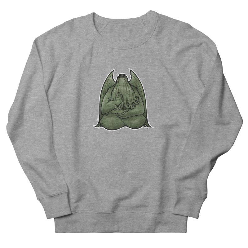 Koan of Cthulhu Men's French Terry Sweatshirt by Marty's Artist Shop