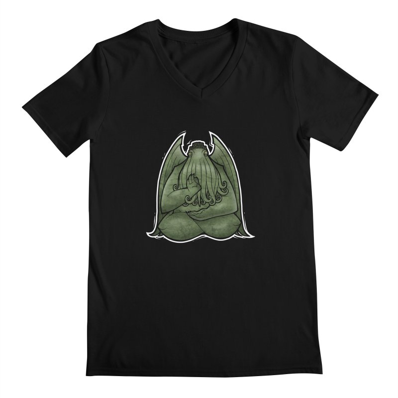 Koan of Cthulhu Men's V-Neck by Marty's Artist Shop