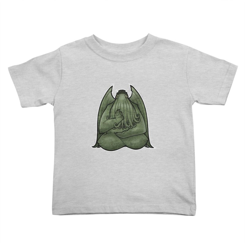 Koan of Cthulhu Kids Toddler T-Shirt by Marty's Artist Shop