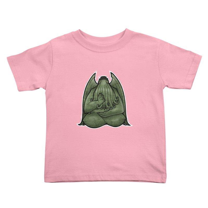 Koan of Cthulhu Kids Toddler T-Shirt by Marty's Artist Shop
