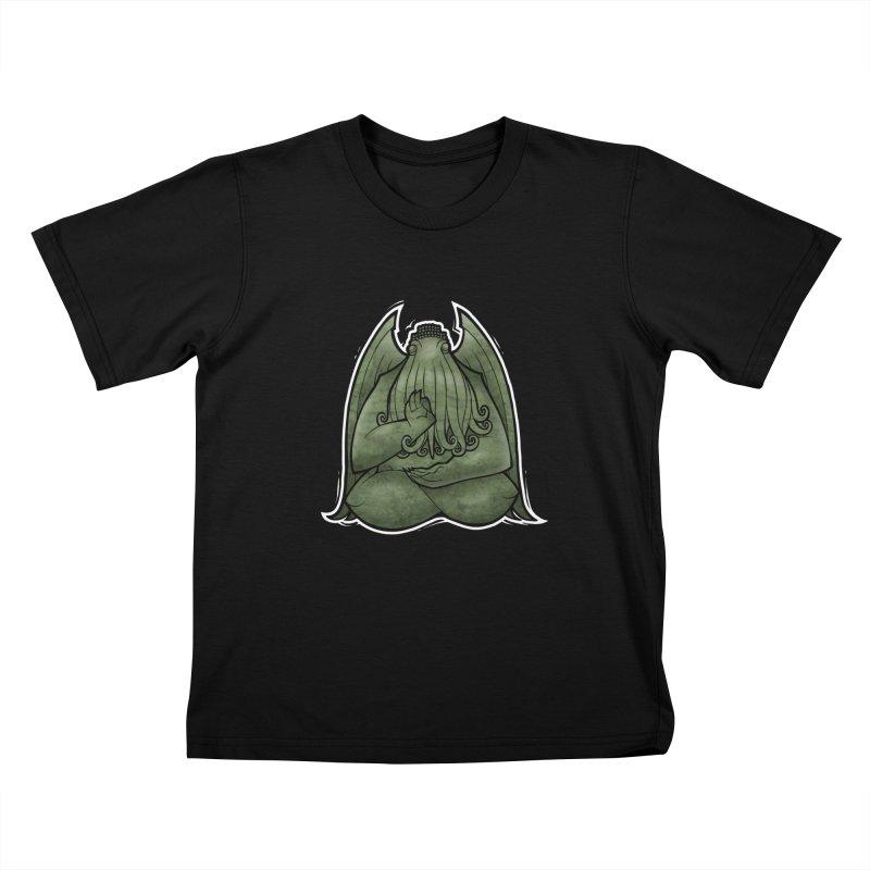 Koan of Cthulhu Kids T-Shirt by Marty's Artist Shop