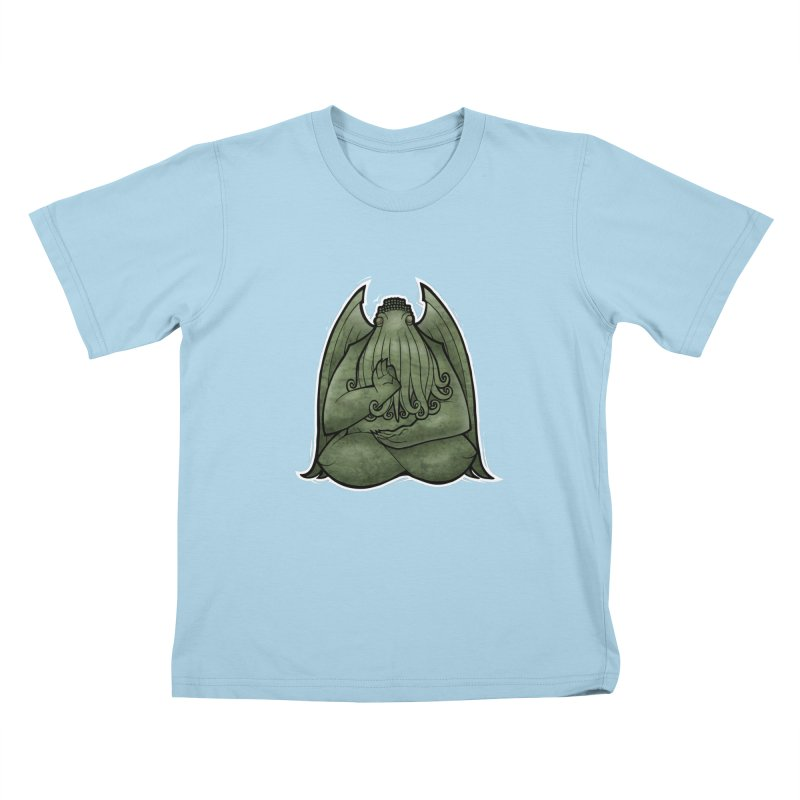 Koan of Cthulhu Kids T-Shirt by Marty's Artist Shop