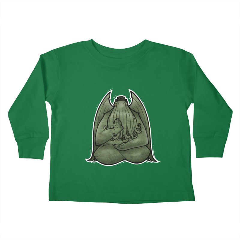 Koan of Cthulhu Kids Toddler Longsleeve T-Shirt by Marty's Artist Shop