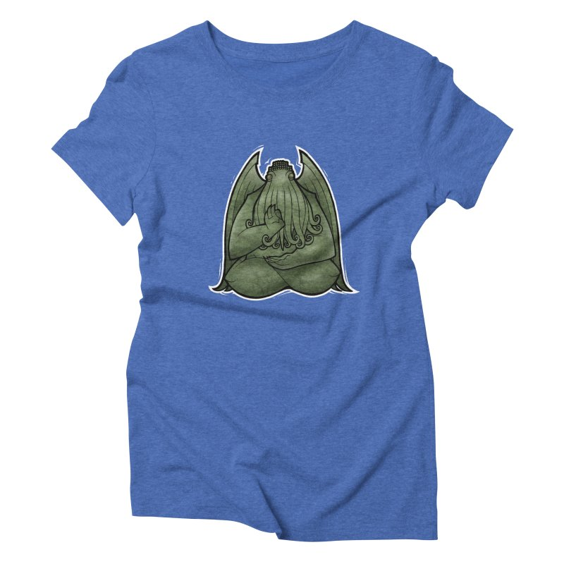 Koan of Cthulhu Women's Triblend T-shirt by Marty's Artist Shop