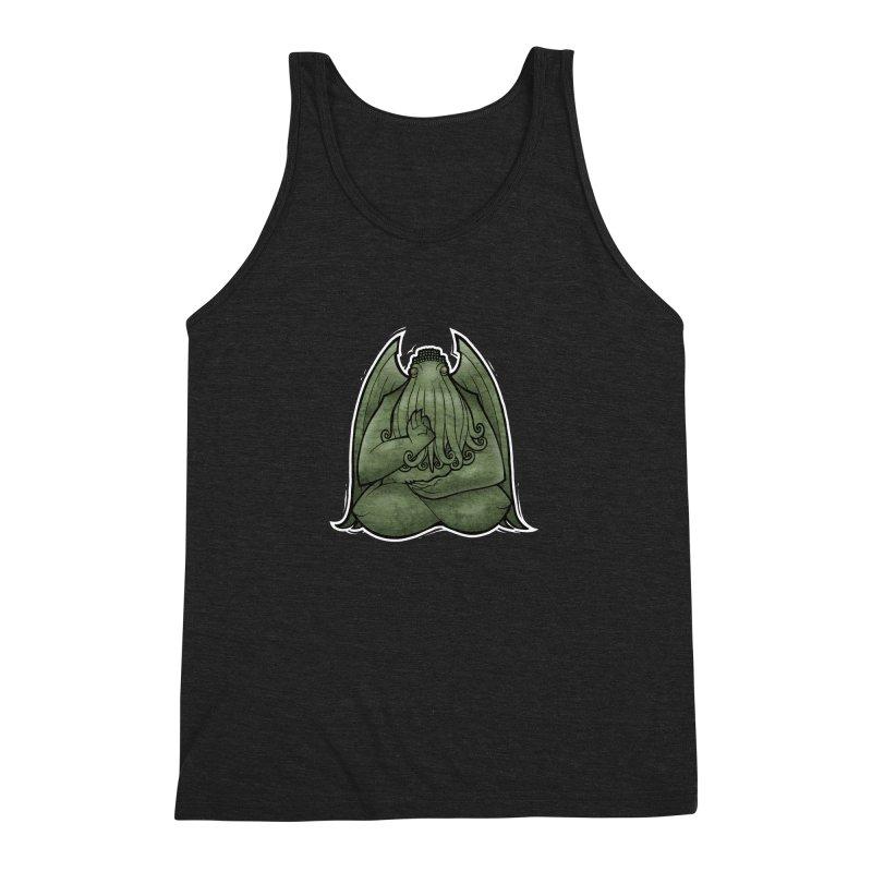 Koan of Cthulhu Men's Triblend Tank by Marty's Artist Shop