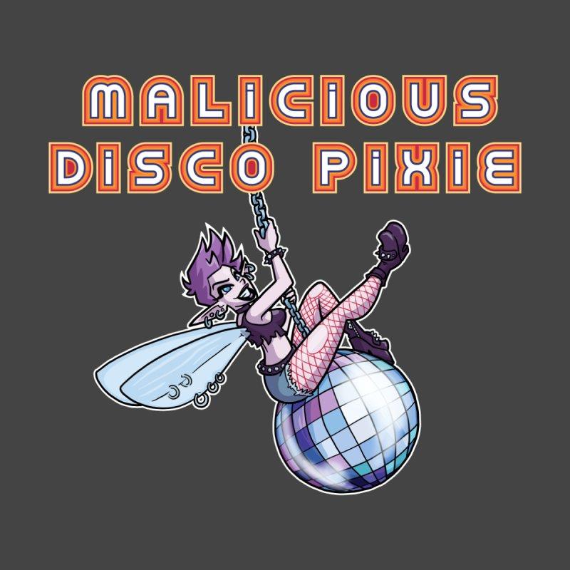Malicious Disco Pixie Men's Longsleeve T-Shirt by Marty's Artist Shop